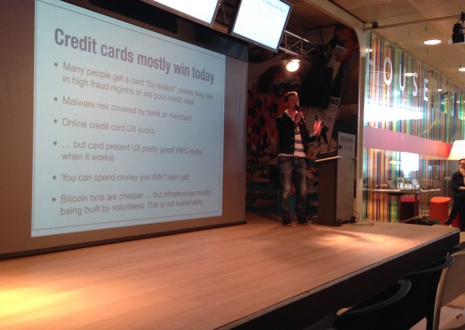 """""""Credit cards mostly win today"""" - Bitcoin core developer Mike Hearn"""